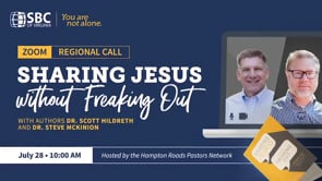 Sharing Jesus without Freaking Out | SBC of Virginia