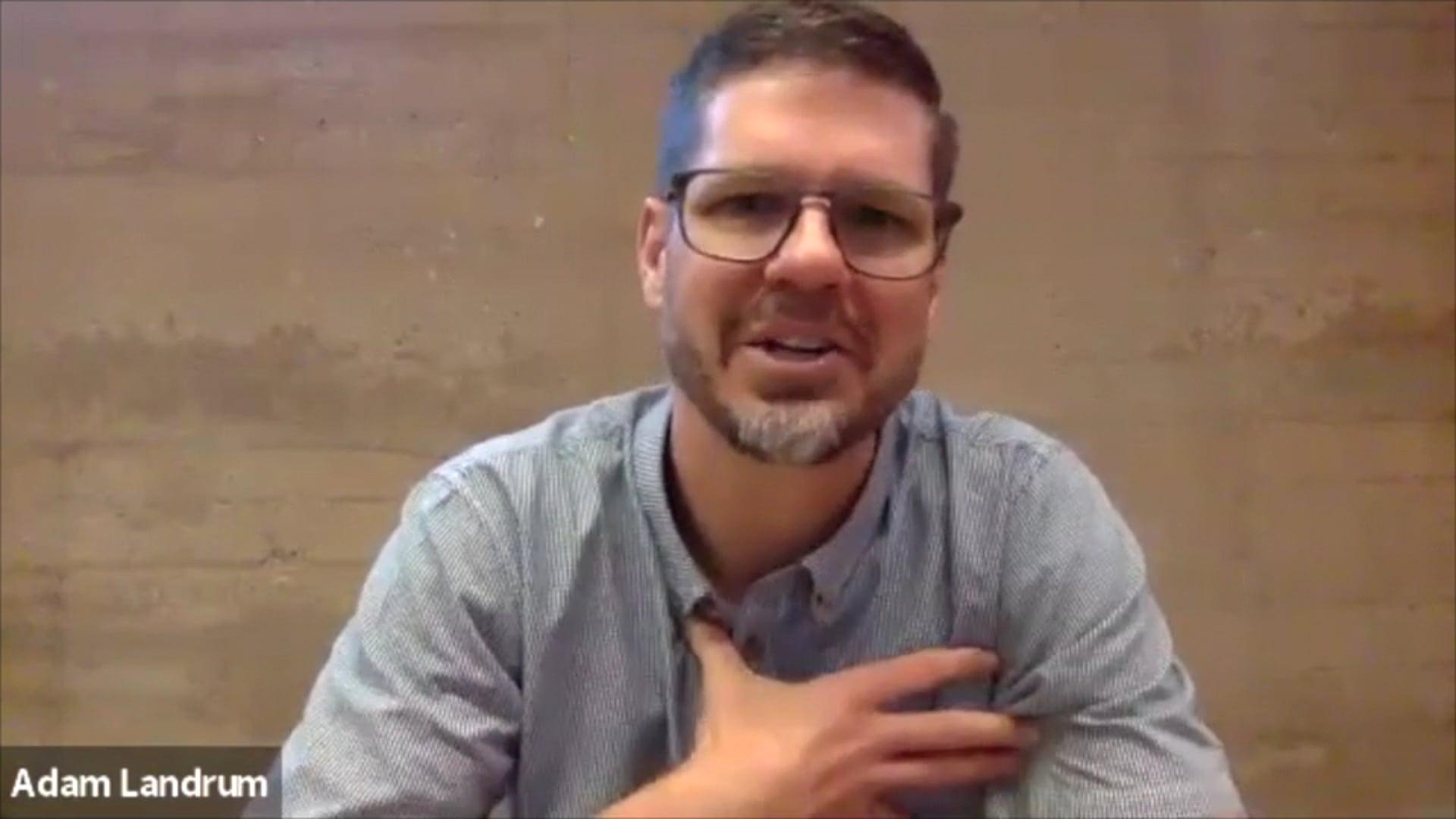 Adam Landrum xWhy Testimonial