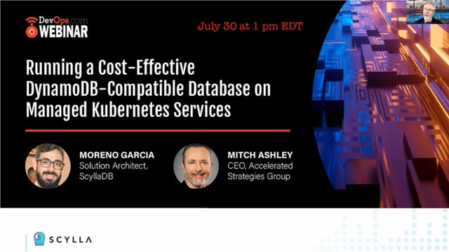 Running a Cost-Effective DynamoDB-Compatible Database on Managed Kubernetes Services