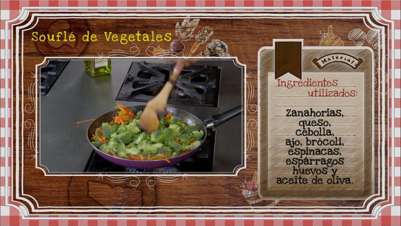 Soufflé de Vegetales