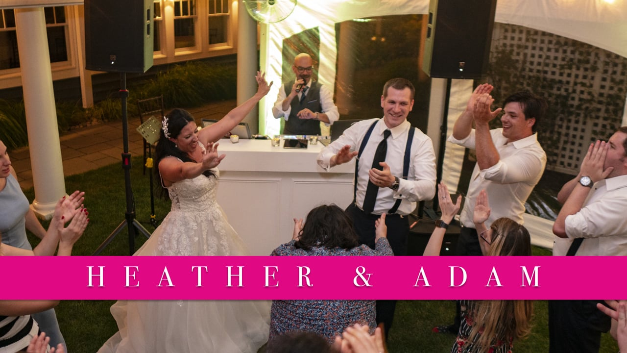 Real SCE Weddings - Heather & Adam at Chesapeak Bay Beach Club Tony Tee Neto - SCE Event Group