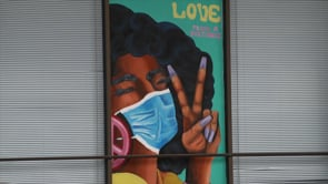 Waco Mask Mural Campaign