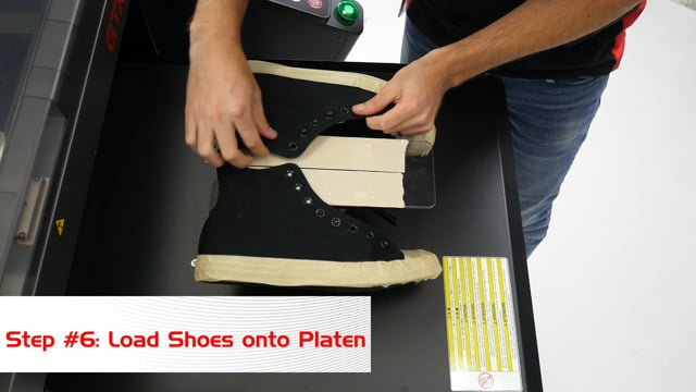 How to Print a Shoe on a Brother GTXpro DTG Printer