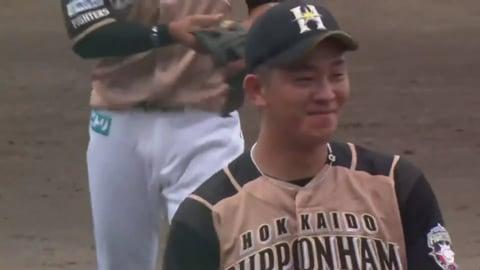 【ファーム】ファイターズ・北浦  今シーズン初完封で2勝目をあげる!! 2020/8/1 M-F(ファーム)