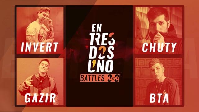 #ENTRESDOSUNOBATTLES 2vs2 - Semifinal 1
