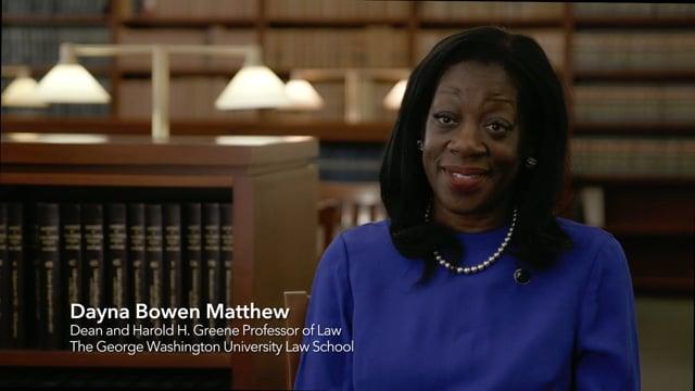 GW Law Welcomes Dean Dayna Bowen Matthew