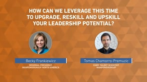How can we leverage this time to upgrade, reskill and upskill your potential?