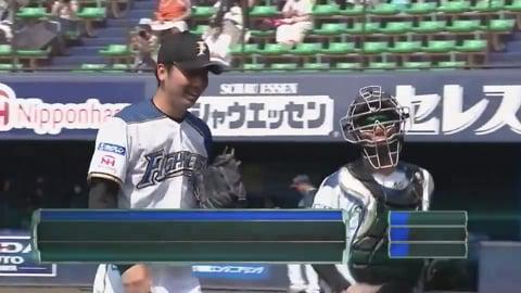 【ファーム】ファイターズ・鈴木遼 2回を無失点に抑える好投を披露!! 2020/8/5 F-S(ファーム)
