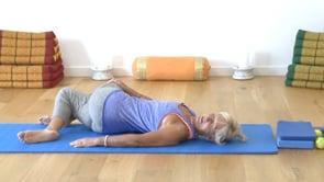 Pilates Exercise - Hip Rolls