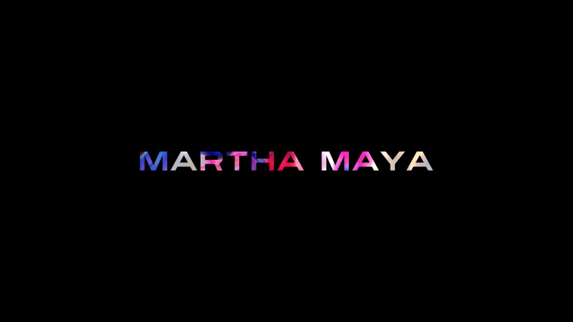 Demo Reel Martha Maya