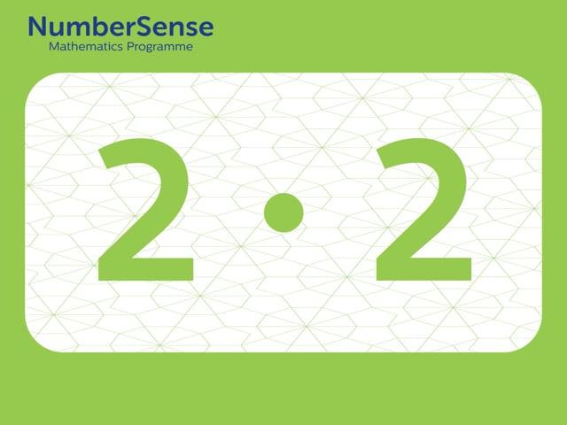 NumberSense Manipulating Numbers: Level 2, Task 2 (Gr.1, T.2, Wkbk 2)