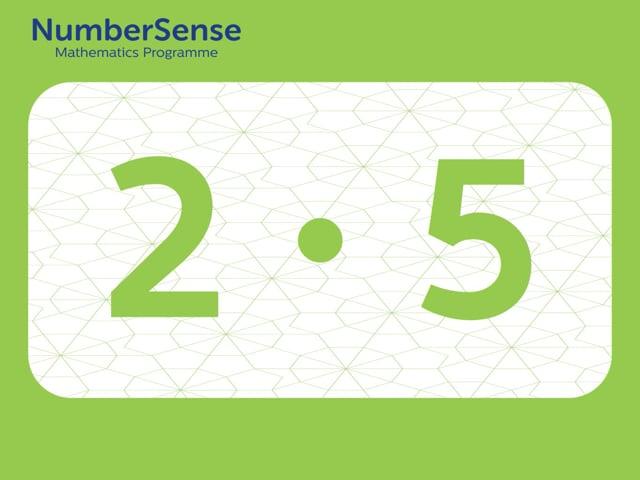 NumberSense Manipulating Numbers: Level 2, Task 5 (Gr.1, T.2, Wkbk 2)