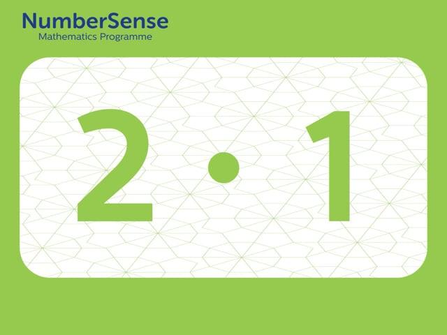 NumberSense Manipulating Numbers: Level 2, Task 1 (Gr.1, T.2, Wkbk 2)