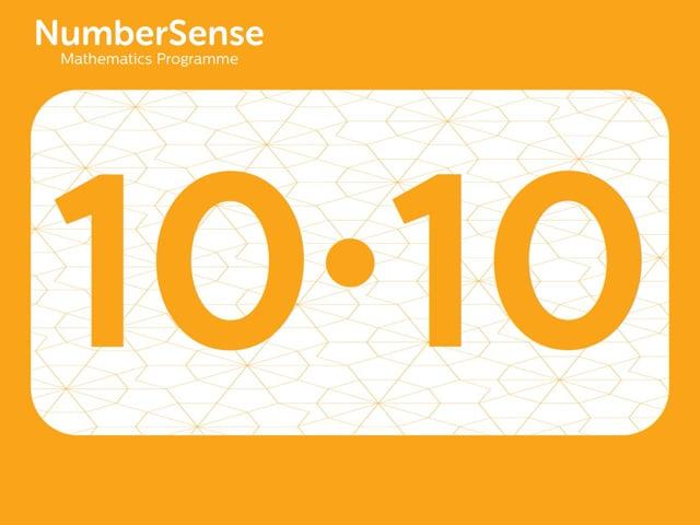NumberSense Manipulating Numbers: Level 10, Task 10 (Gr.3, T.2, Wkbk 10)