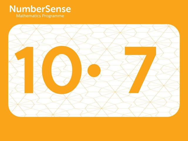 NumberSense Manipulating Numbers: Level 10, Task 7 (Gr.3, T.2, Wkbk 10)