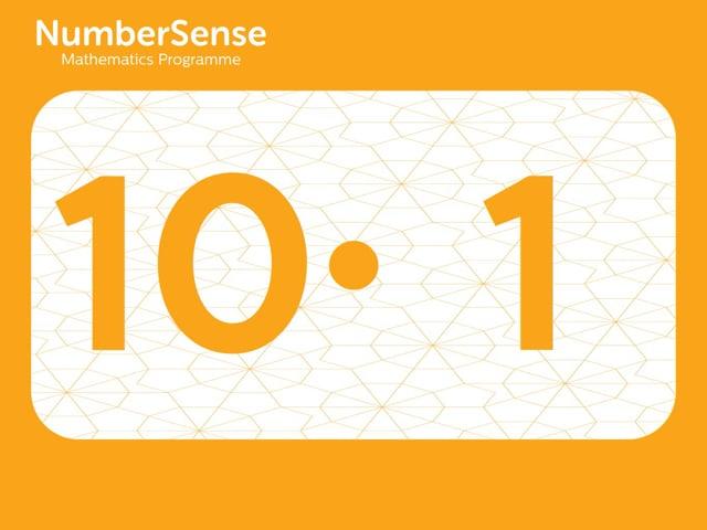 NumberSense Manipulating Numbers: Level 10, Task 1 (Gr.3, T.2, Wkbk 10)