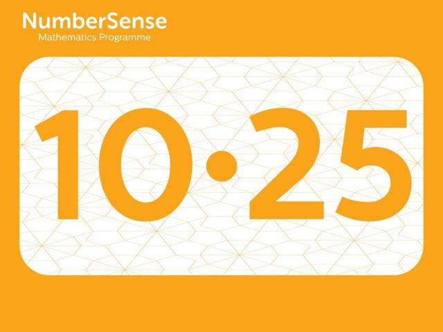 NumberSense Manipulating Numbers: Level 10, Task 25 (Gr.3, T.2, Wkbk 10)
