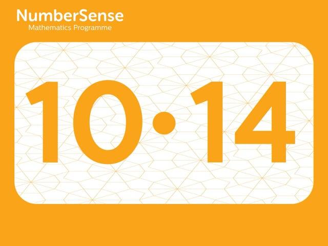 NumberSense Manipulating Numbers: Level 10, Task 14 (Gr.3, T.2, Wkbk 10)