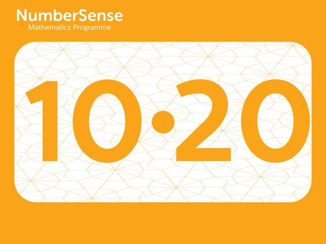 NumberSense Manipulating Numbers: Level 10, Task 20 (Gr.3, T.2, Wkbk 10)