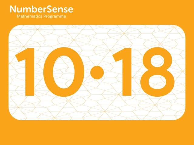 NumberSense Manipulating Numbers: Level 10, Task 18 (Gr.3, T.2, Wkbk 10)