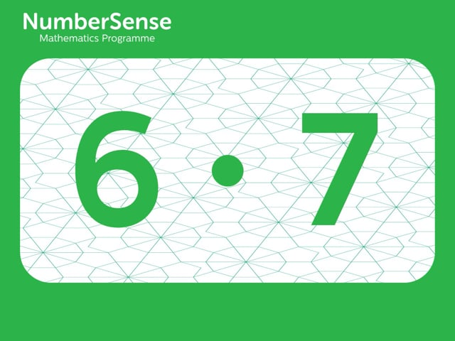 NumberSense Manipulating Numbers: Level 6, Task 7 (Gr.2, T.2, Wkbk 6)
