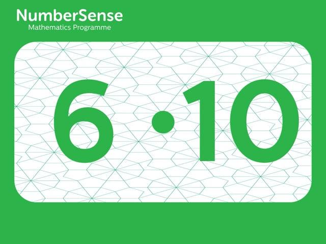 NumberSense Manipulating Numbers: Level 6, Task 10 (Gr.2, T.2, Wkbk 6)