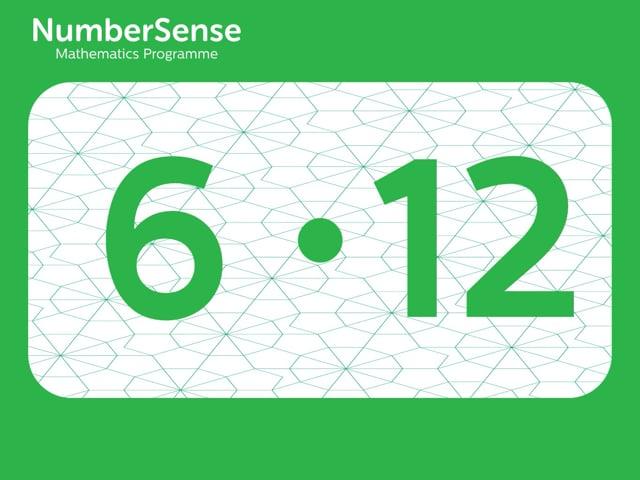 NumberSense Manipulating Numbers: Level 6, Task 12 (Gr.2, T.2, Wkbk 6)