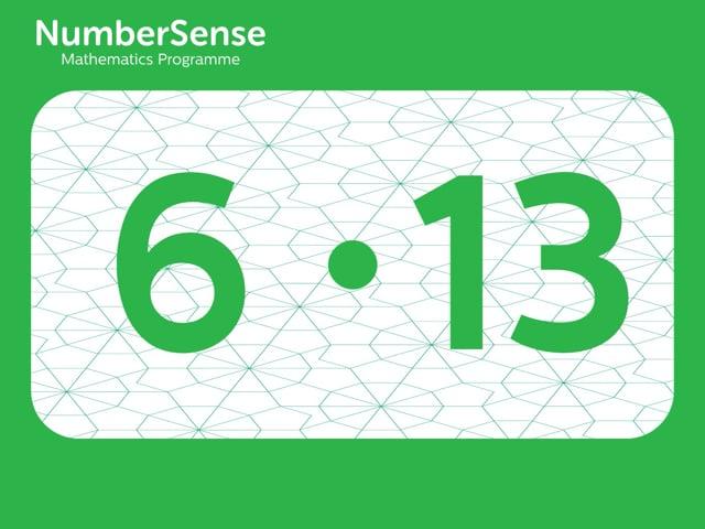 NumberSense Manipulating Numbers: Level 6, Task 13 (Gr.2, T.2, Wkbk 6)