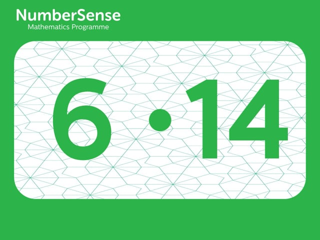 NumberSense Manipulating Numbers: Level 6, Task 14 (Gr.2, T.2, Wkbk 6)