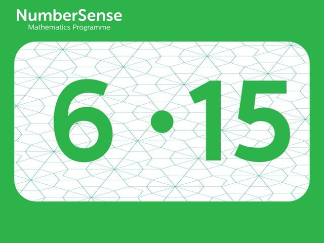 NumberSense Manipulating Numbers: Level 6, Task 15 (Gr.2, T.2, Wkbk 6)