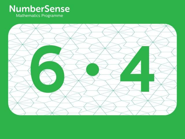 NumberSense Manipulating Numbers: Level 6, Task 4 (Gr.2, T.2, Wkbk 6)