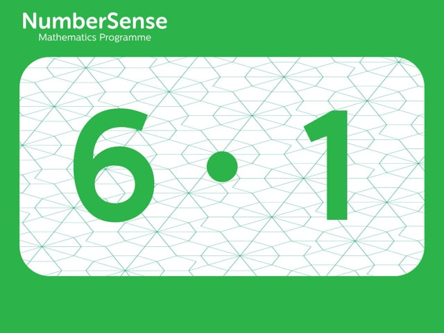 NumberSense Manipulating Numbers: Level 6, Task 1 (Gr.2, T.2, Wkbk 6)