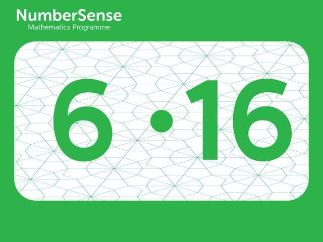 NumberSense Manipulating Numbers: Level 6, Task 16 (Gr.2, T.2, Wkbk 6)