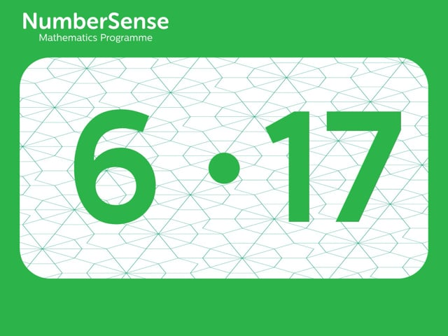 NumberSense Manipulating Numbers: Level 6, Task 17 (Gr.2, T.2, Wkbk 6)