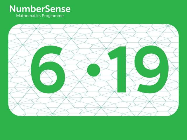 NumberSense Manipulating Numbers: Level 6, Task 19 (Gr.2, T.2, Wkbk 6)