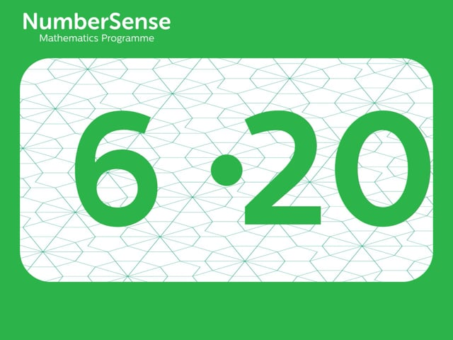 NumberSense Manipulating Numbers: Level 6, Task 20 (Gr.2, T.2, Wkbk 6)