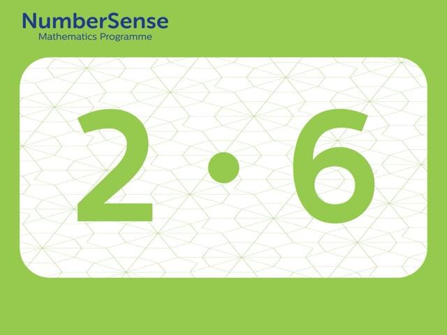NumberSense Manipulating Numbers: Level 2, Task 6 (Gr.1, T.2, Wkbk 2)