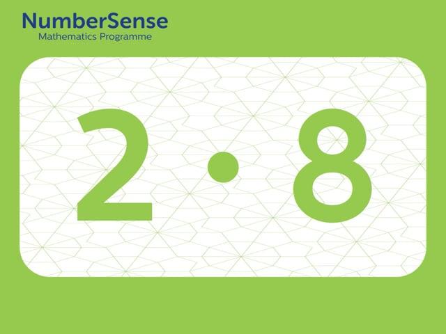 NumberSense Manipulating Numbers: Level 2, Task 8 (Gr.1, T.2, Wkbk 2)