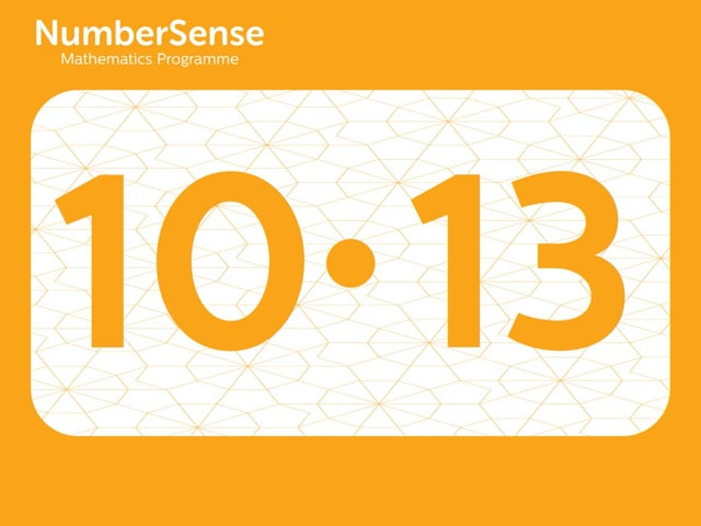 NumberSense Manipulating Numbers: Level 10, Task 13 (Gr.3, T.2, Wkbk 10)