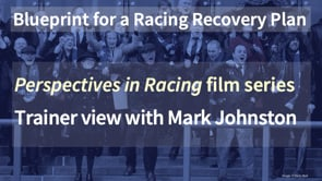 Thumbnail of Trainer view with Mark Johnston