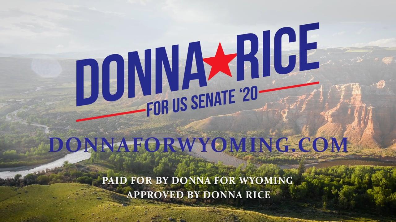 Donna Rice for US Senate 2020 - DonnaForWyoming.com