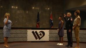 Interim PD Chief Gentch Sworn in