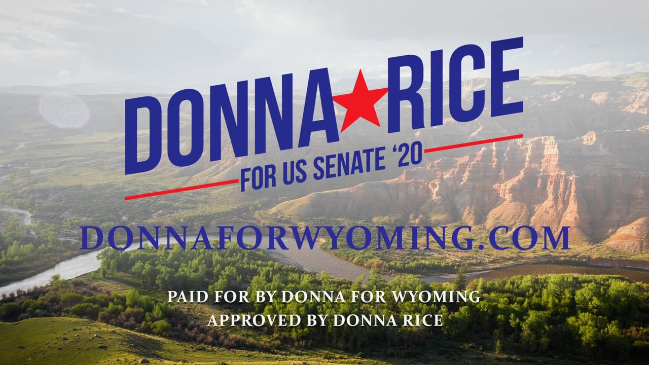 Enough is Enough - Donna Rice for US Senate 2020 - DonnaForWyoming.com