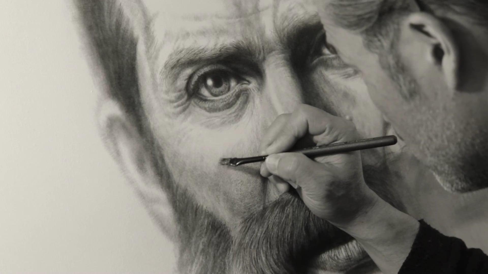 Portrait of Hardwicke Rawnsley   Work in Progress