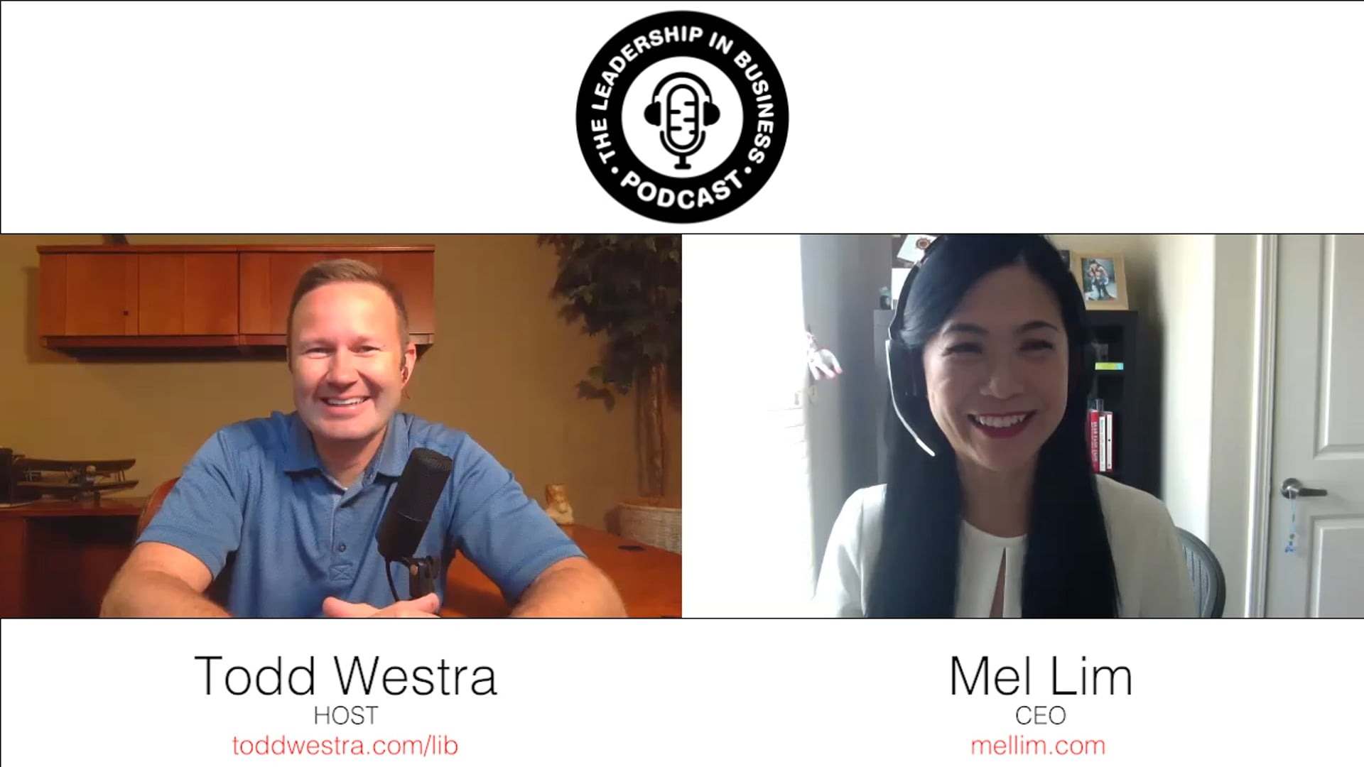 The Leadership in Business Podcast Interview with Mel Lim