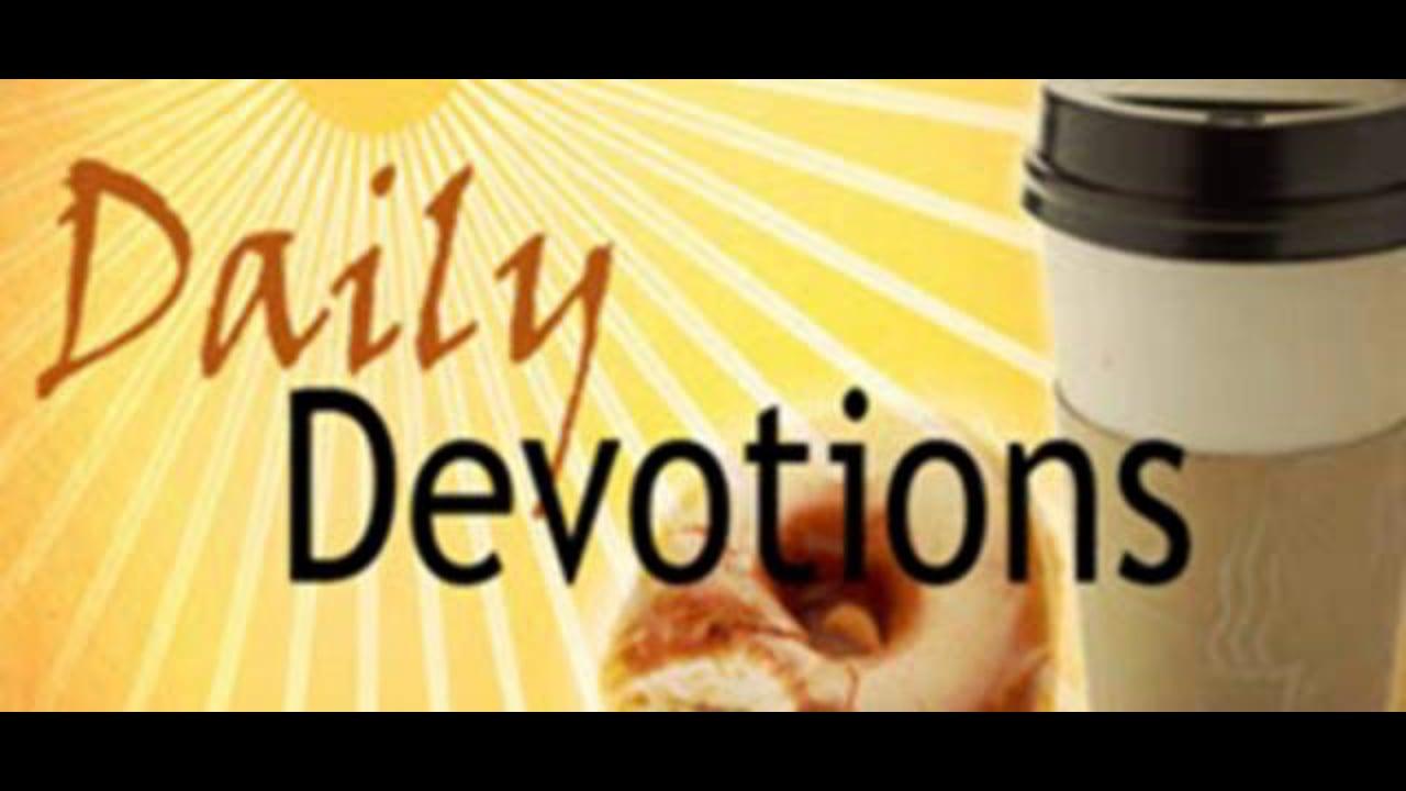 Daily Devotion 10/4/10