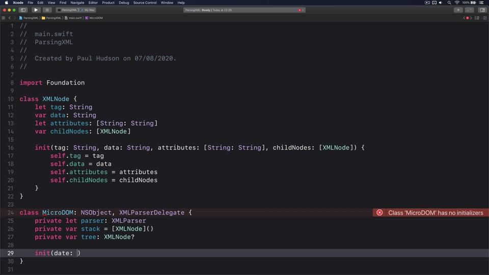 Parsing XML the easy way