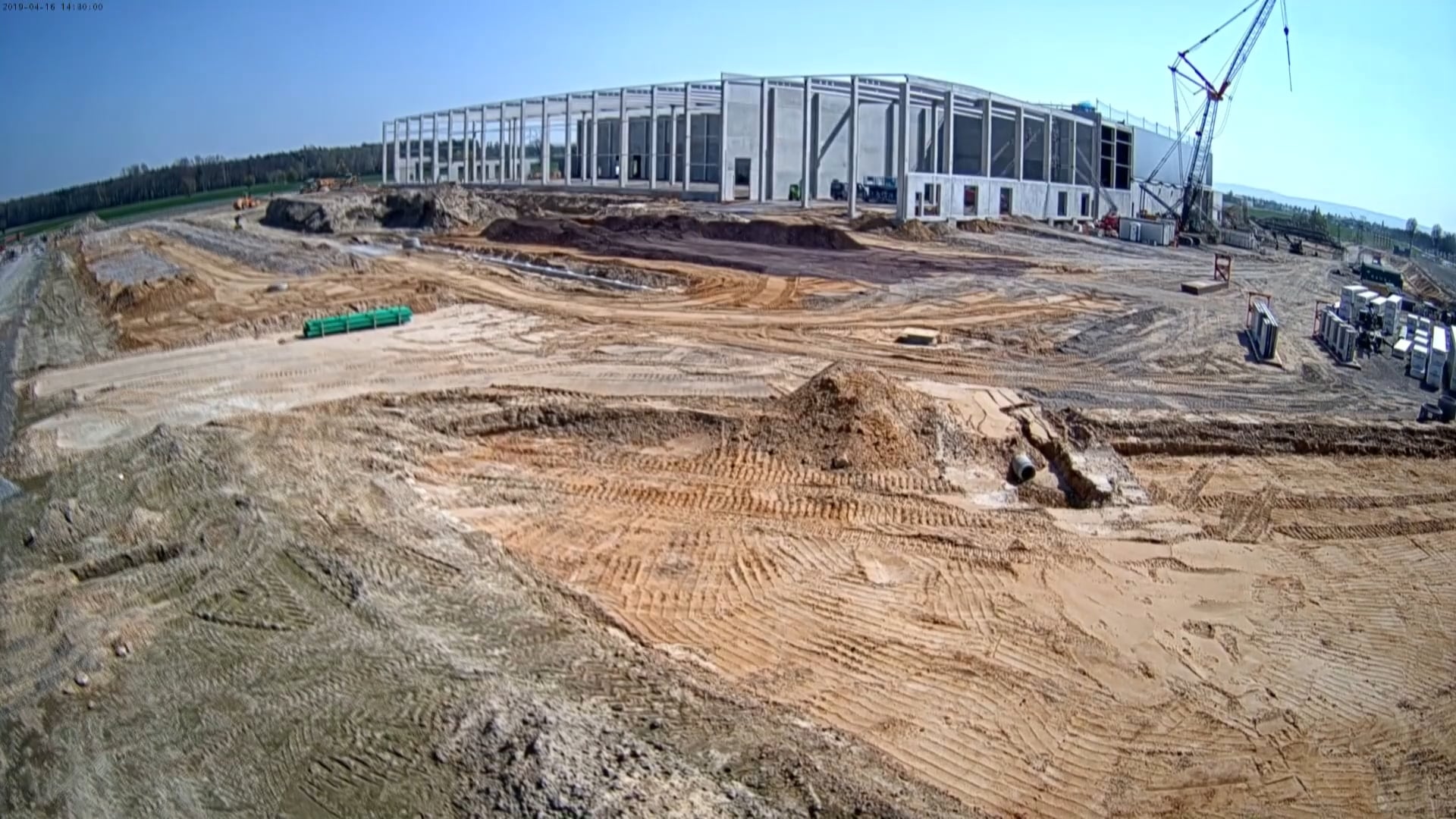 In Action - Timelapse Of HAVI DC Construction In Germany