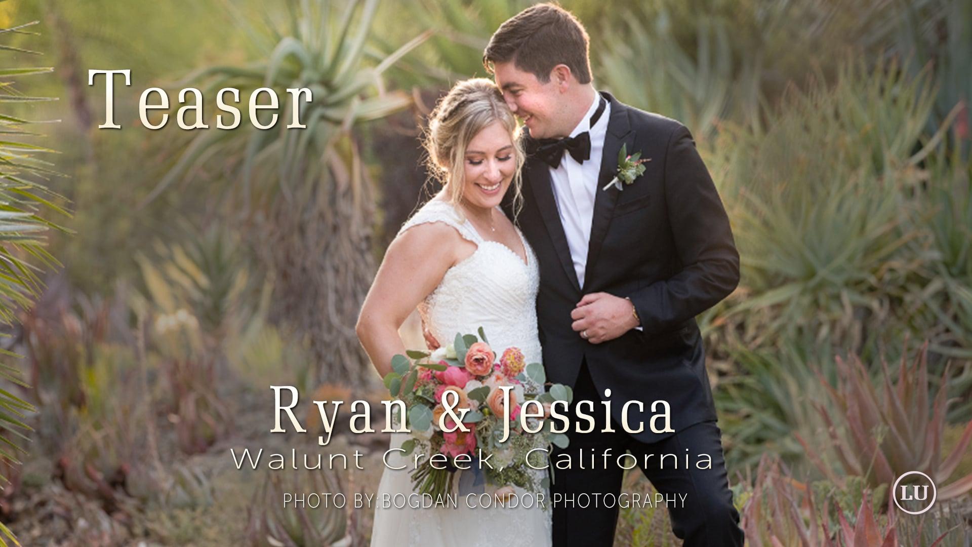 Ruth Bancroft Gardens l Wedding Video Teaser l Walnut Creek, CA