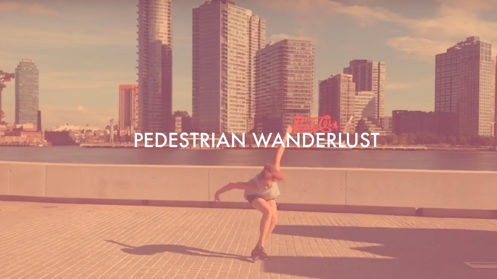 Pedestrian Wanderlust
